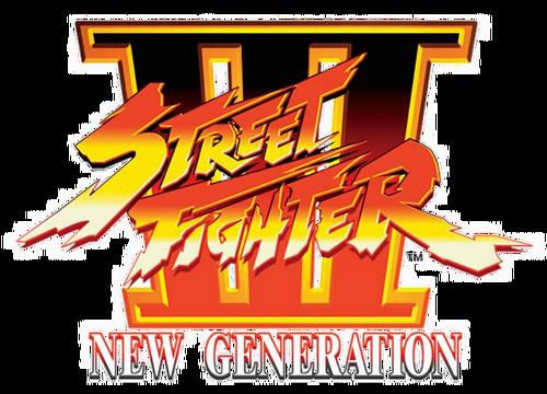 Street Fighter III New Generation Logo