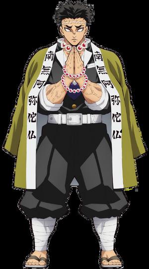 Gyomei Anime Full Body Render