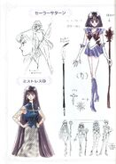 Sailor Saturn Concept Art