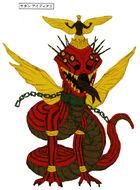Satan Apocalypse Concept