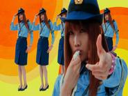 Cutie Honey Movie Cutie Honey as a policewoman