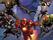 Iron man x guardians