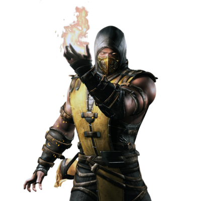 Mortal kombat x ios scorpion render 2 by wyruzzah-d8p0m11