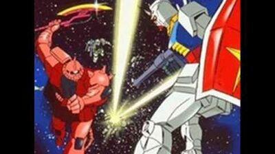 """Fly! Gundam"" Mobile Suit Gundam Opening Theme Full"