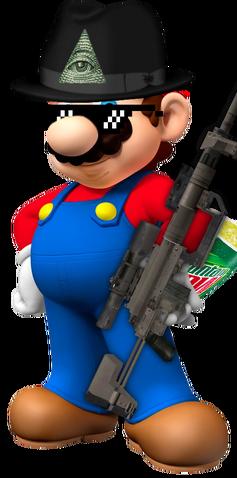 File:MLG Mario.png