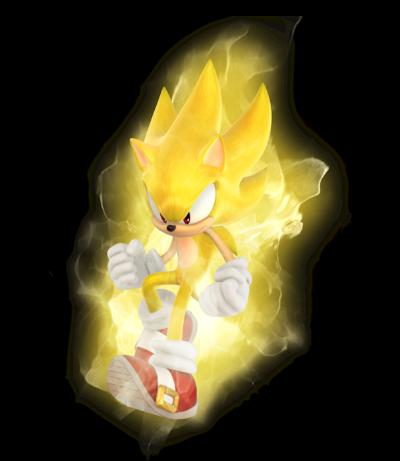 Sonic Games Super Sonic 2 (Render)
