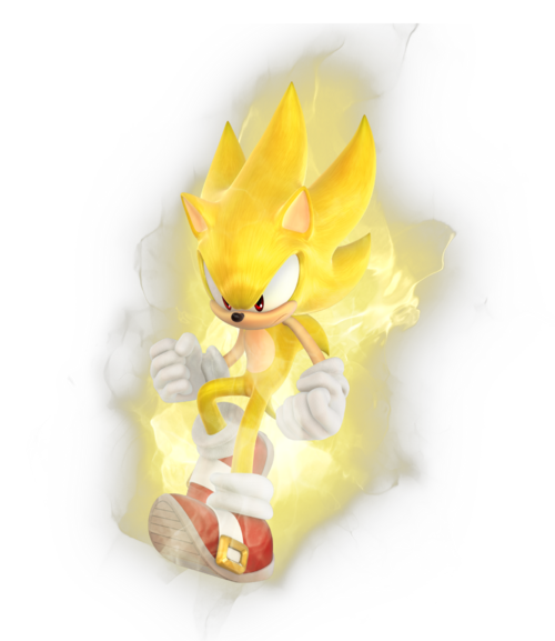 Sonic Games Super Sonic 2 (Render)
