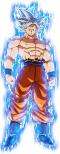 UI Goku FighterZ aura