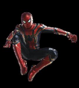 Avengers infinity war iron spider man