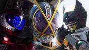 Kamen Rider Birth, Kaixa, and Accel Henshin and Fight Scenes KR Zi-O NEXT TIME Geiz, Majesty