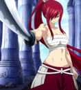 Fairy Tail - Erza Scarlet wearing Clear Heart Clothing