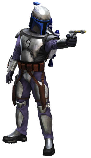 Star wars aotc jango fett png transparent by paintpot2-dafp5gt