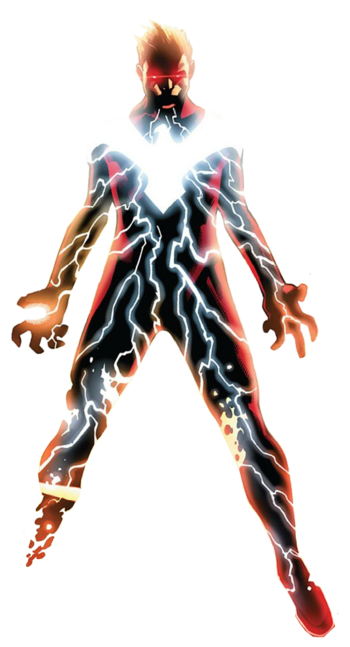 Dark Phoenix Cyclops render