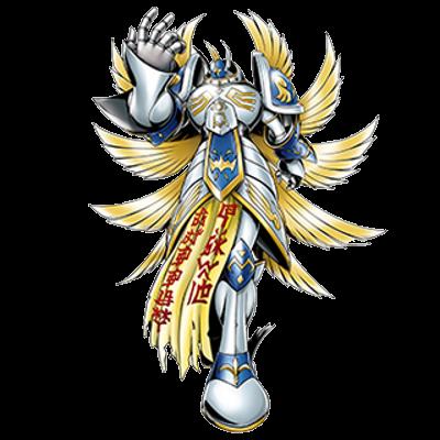 Seraphimon crusader