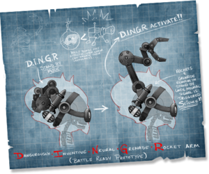 DINGR machine