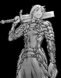 Raki in armor render