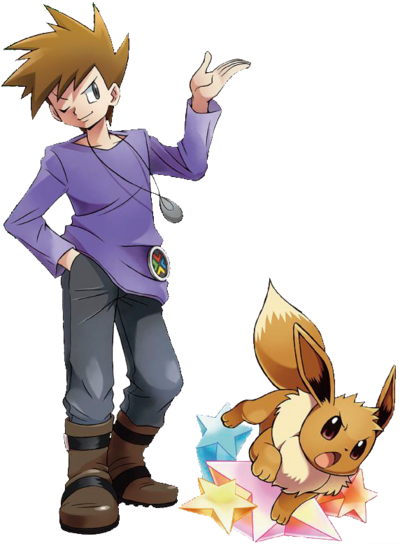 Blue Eevee Ariga artwork