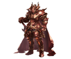 Scarlet knight Full armor