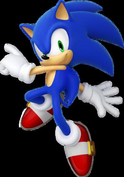 Sonic Games Modern Sonic (Render)