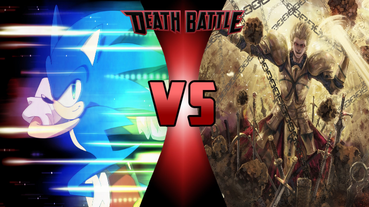 blue blur vs the king of heroes sonic vs gilgamesh vs battles wiki