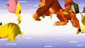 Super Smash Bros N64 Opening