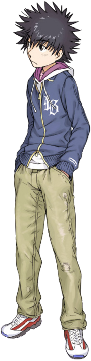 To Aru Kamijou Touma (Render)