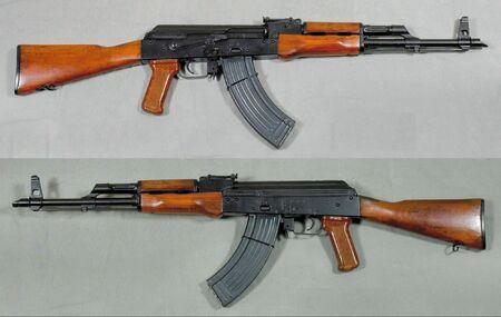 AKM automatkarbin, Ryssland - 7,62x39mm - Armémuseum