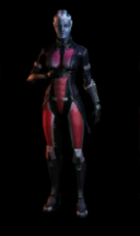 Liara T'Soni in armour