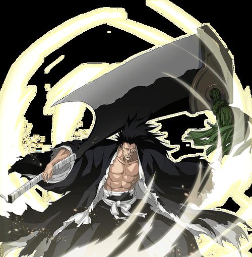 Shikai Kenpachi rendered