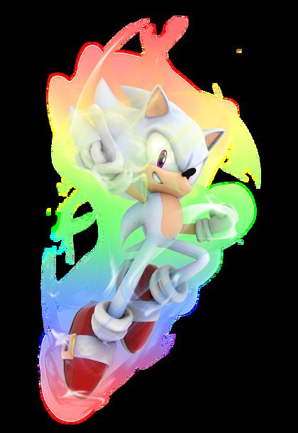 Sonic Games Hyper Sonic