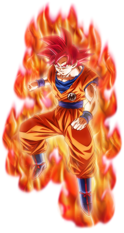 Super saiyan god son goku by nekoar-dbkiwcx
