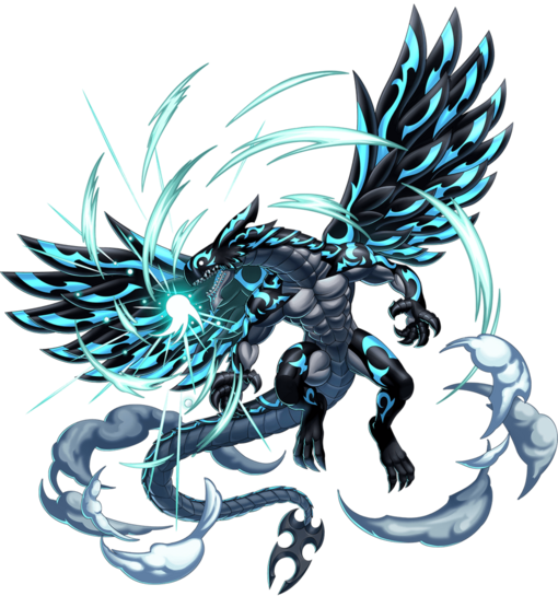 Dragon Acnologia Render
