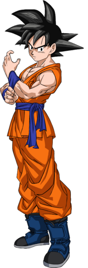 Dragon Ball Super Manga Son Goku (Render)