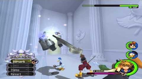 Kingdom Hearts II Final Mix Drive Forms
