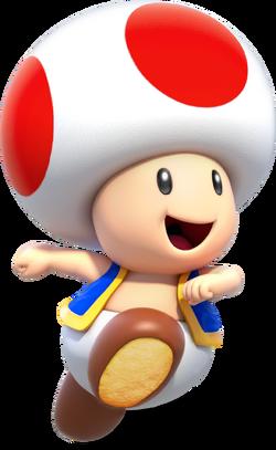 NotAMarioFan Toad render