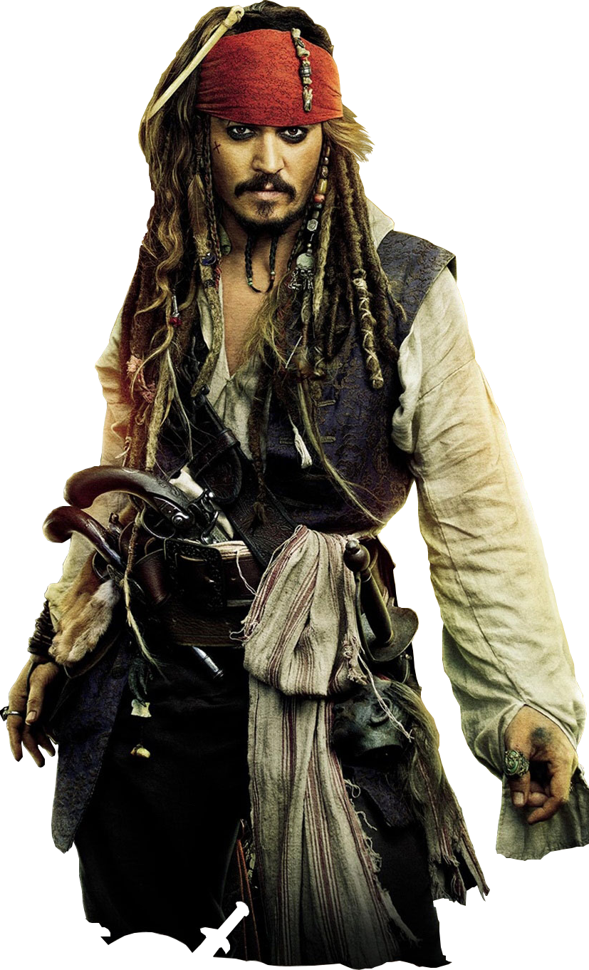 Jack Sparrow Ganzer Körper