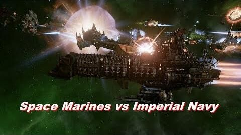 Space Marines vs Imperial Navy! Rank 127, Heroic Difficulty, 1500 Points - Battlefleet Gothic Armada