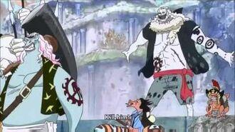 Luffy Haki vs 50000 new Fishmen Pirate
