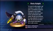 Super Smash Bros. Brawl-Meta Knight's trophy