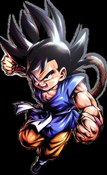 Base GT Kid Goku