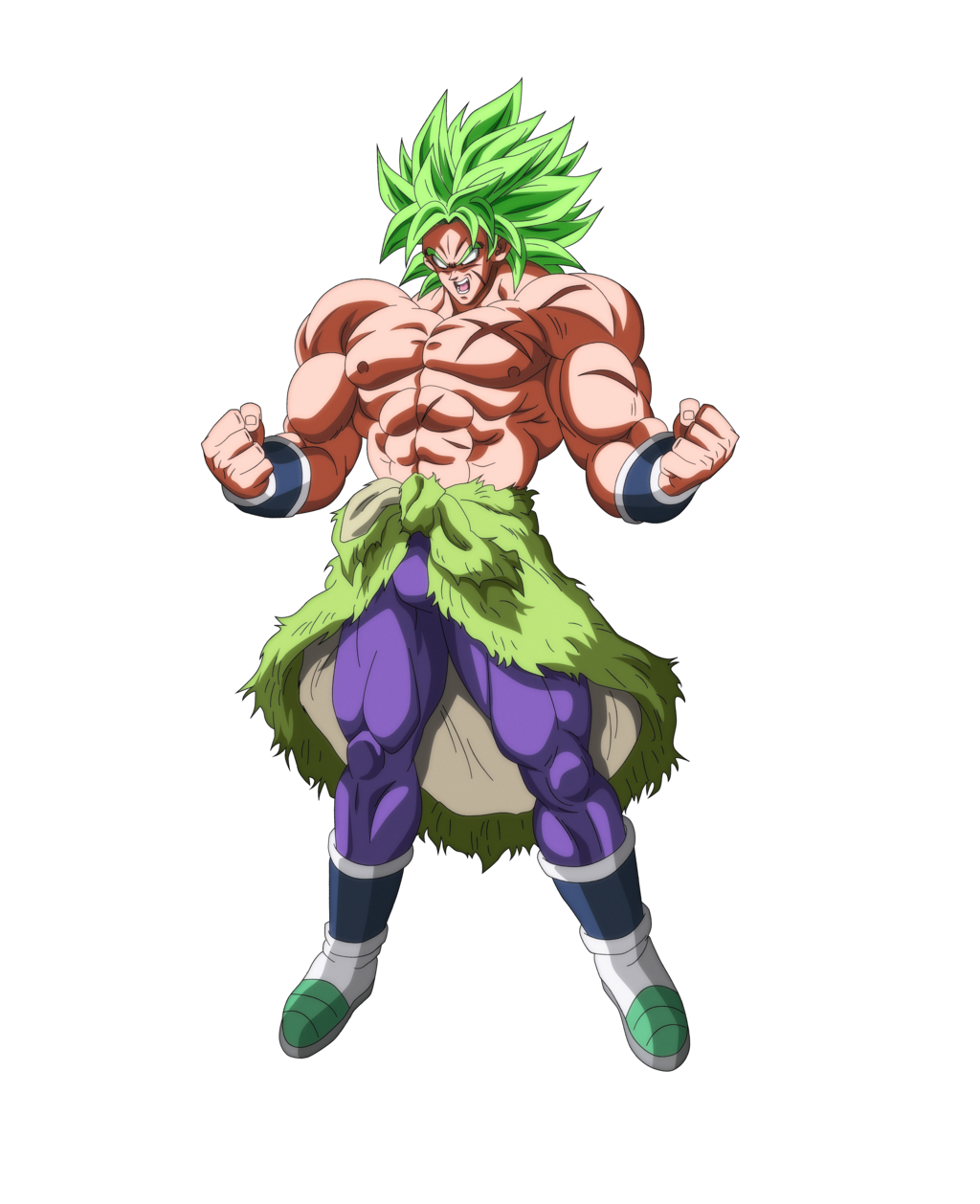 Dragon Ball Broly Full Movie: Broly 2018 With Extra Shading By Rmehedi-dchh6mu