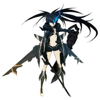 Stella Black Rock Shooter Render By Skodwarde