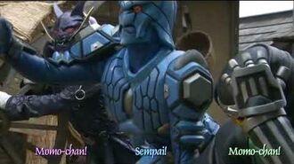 Kamen Rider Yuuki Skull Form VS Momotaros