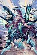 Blue Storm Dragon Maelstrom