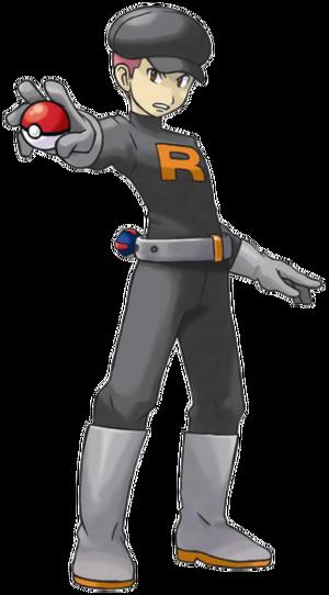 HeartGold SoulSilver Male Rocket Grunt2