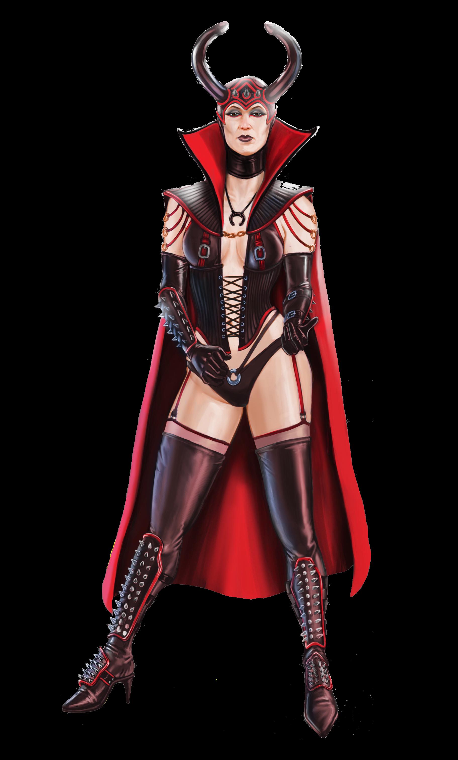 Images of a dominatrix