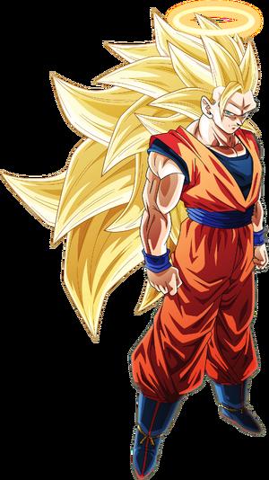 Super Saiyan 3 Goku by AubreiPrince