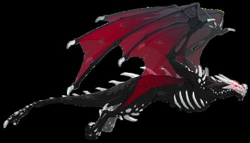 Grimm Dragon Concept Art render