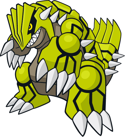 Shiny groudon global link art by trainerparshen-d6u5tty