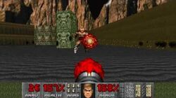 The Ultimate DOOM - E2M8 The Shores of Hell - Tower of Babel